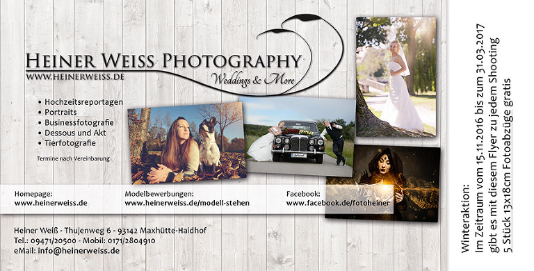 flyer-november-2016 Hochzeitsfotograf Regensburg Heiner Weiss
