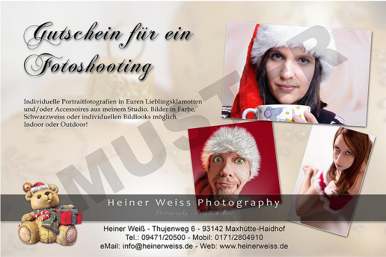 Heiner Weiss Photography Gutschein